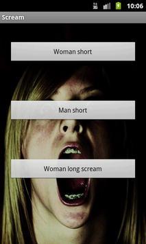 Scream apk screenshot