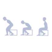 Watch your posture icon