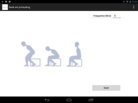 Watch your posture apk screenshot