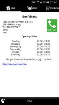 Bon Vivant Den Haag apk screenshot