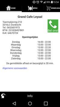 Grand Cafe Leyaal Dordrecht screenshot 4