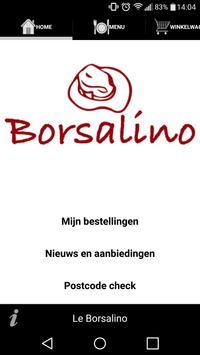 Le Borsalino Den Haag poster