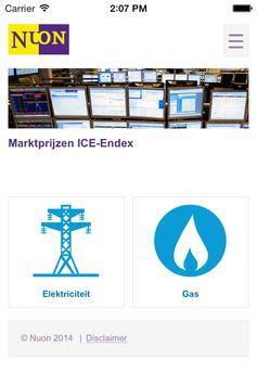 Energieprijzen poster