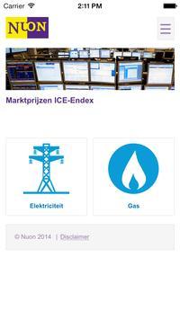 Energieprijzen screenshot 3