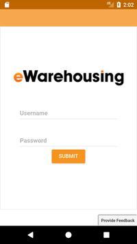 eWarehousing poster