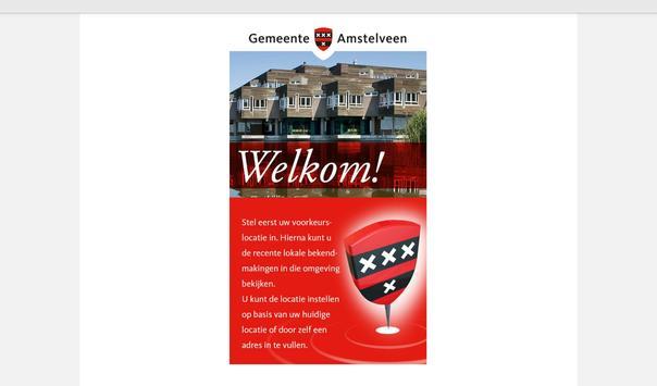 Amstelveen - OmgevingsAlert apk screenshot
