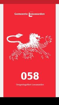 Leeuwarden - OmgevingsAlert poster