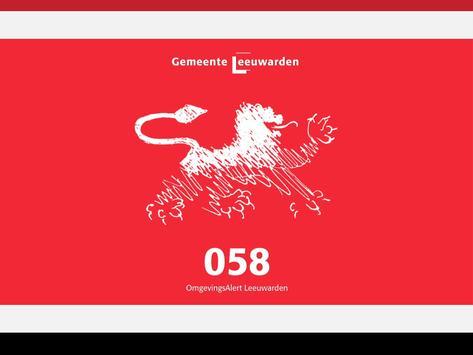 Leeuwarden - OmgevingsAlert apk screenshot
