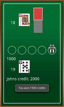 BlackJack screenshot 1
