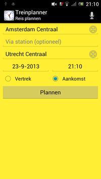 Treinplanner screenshot 14