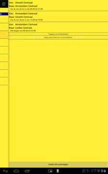 Treinplanner screenshot 5