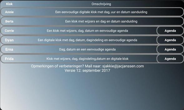 Alzheimerklok screenshot 5