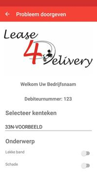 Lease4Delivery apk screenshot