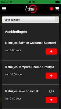 Hiro Sushi Amstelveen apk screenshot