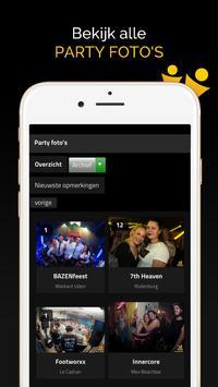 Partyflock screenshot 2