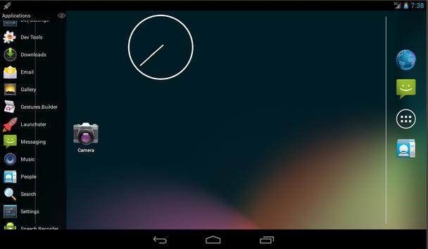 Launchster Side Launcher apk screenshot