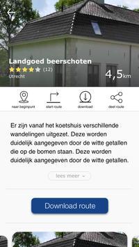 Wandelroutes - Vitens screenshot 1