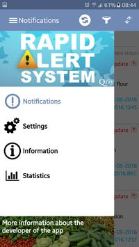 Rapid Alert System Food & Feed poster
