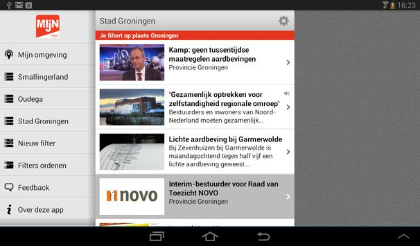 Mijn regio tablet screenshot 4