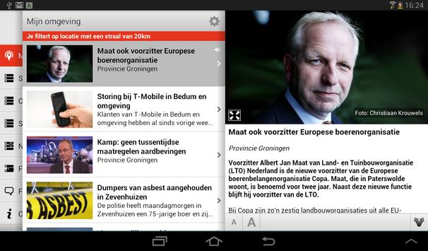 Mijn regio tablet screenshot 5