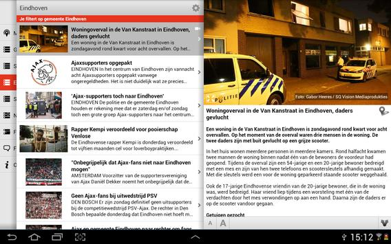Mijn regio tablet screenshot 1