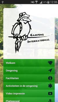 Camping Internationaal poster