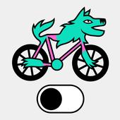 Fietsmodus icon