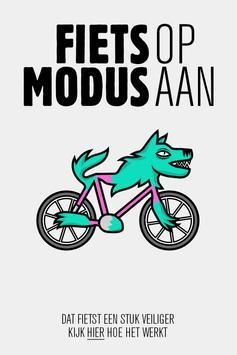 Fietsmodus poster