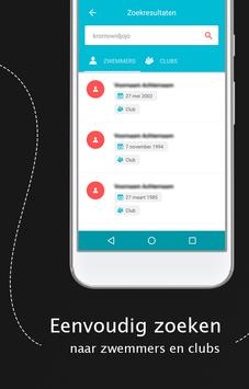 Zwemuitslagen screenshot 1
