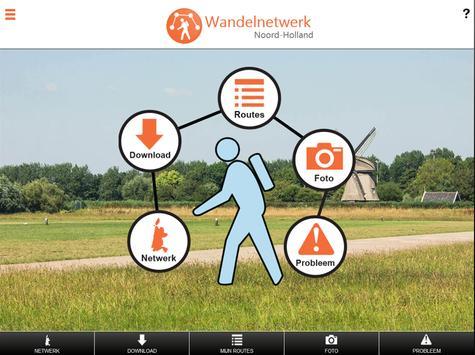 Wandelnetwerk Noord-Holland screenshot 5