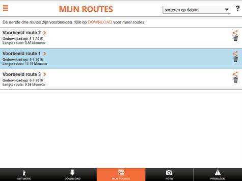 Wandelnetwerk Noord-Holland screenshot 7