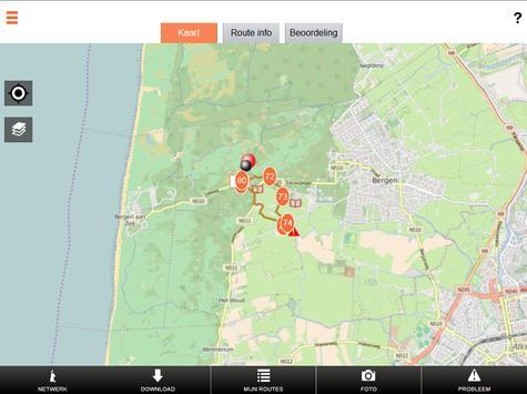 Wandelnetwerk Noord-Holland screenshot 8