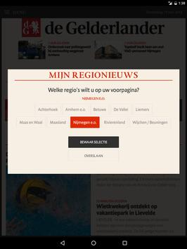 De Gelderlander voor tablet screenshot 1