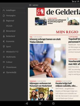 De Gelderlander voor tablet screenshot 4