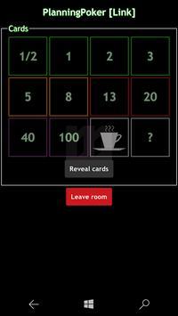 WilliM PlanningPoker screenshot 5