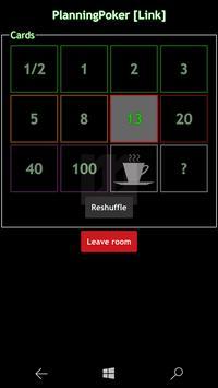WilliM PlanningPoker screenshot 6