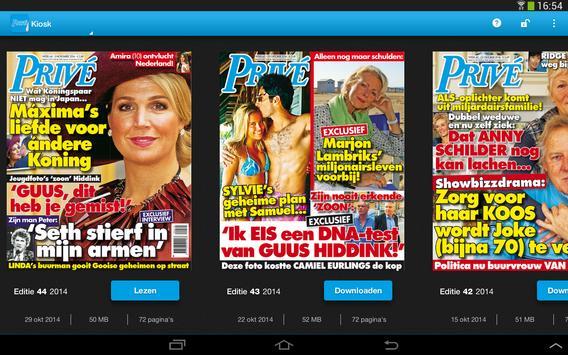 Privé magazine apk screenshot