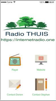 Radio THUIS poster