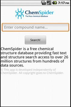 ChemSpider Search for Android - APK Download