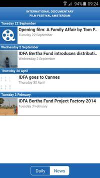 IDFA 2015 screenshot 2