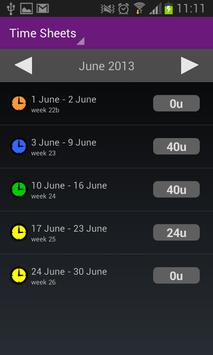 Timewax screenshot 3
