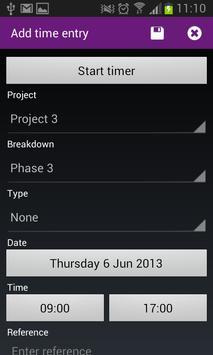 Timewax screenshot 5