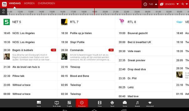 TVGids.nl apk screenshot