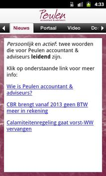 Peulen accountants en adviseur apk screenshot