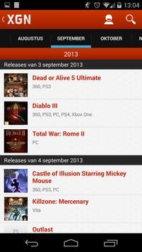 XGN.nl - Games en film nieuws apk screenshot