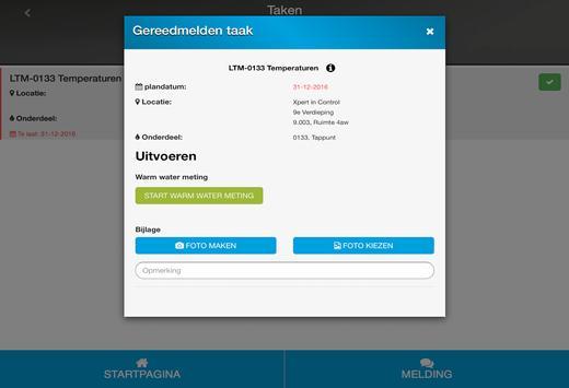 XIC Registratie screenshot 5