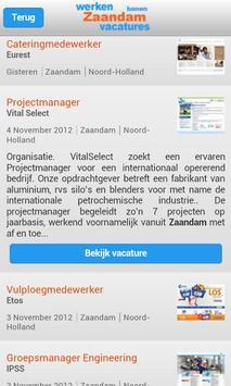 Zaandam: Werken & Vacatures apk screenshot