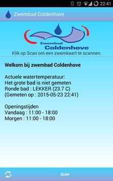 Zwembad Coldenhove poster