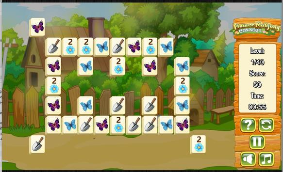 Flower Mahjong screenshot 4