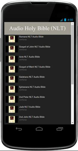 NLT Audio Bible Free App for Android - APK Download